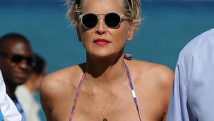 Sharon Stone megmutatta, hogy mennyit változott 43 év alatt