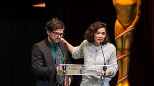 A magyar Oscar-gálán még nincs pofára eső Jennifer Lawrence, de már van nyílt üzengetés