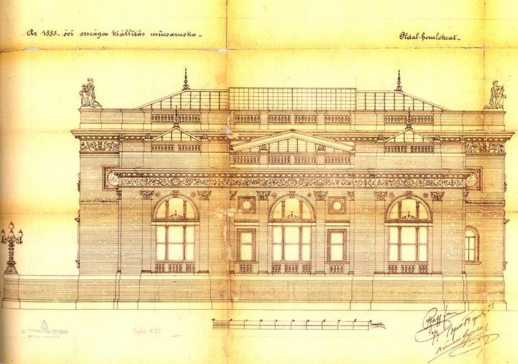 Pfaff Ferenc tervein látszanak az eredeti felülvilágítók