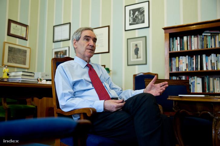 Michael Ignatieff, a CEU elnök-rektora