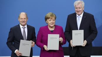 Aláírták a koalíciós szerződést Németországban