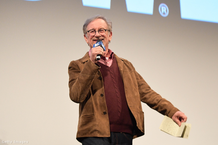 Steven Spielberg a Ready Player One bemutatója után