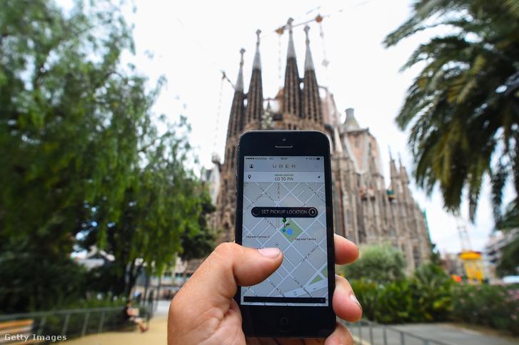 Több mint három évig volt betiltva az Uber Barcelonában