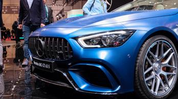 Genfi Autószalon 2018 – AMG GT 4-Door