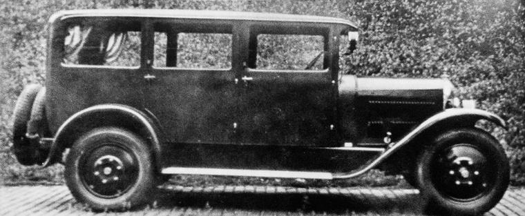 Csepelen, Weiss Manfréd üzemében is készültek autók 1928-tól