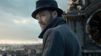Jude Law óriási lesz a Legendás állatok 2-ben