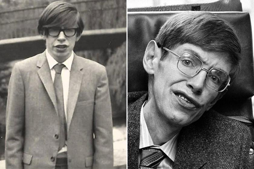 Stephen Hawking 1942. január 8-án született Oxfordban, és már 17 évesen az Oxfordi Egyetemen tanult, doktori fokozatát pedig a Cambridge-i Egyetemen szerezte.