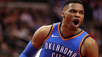 Westbrook az NBA legszűkebb elitjébe került