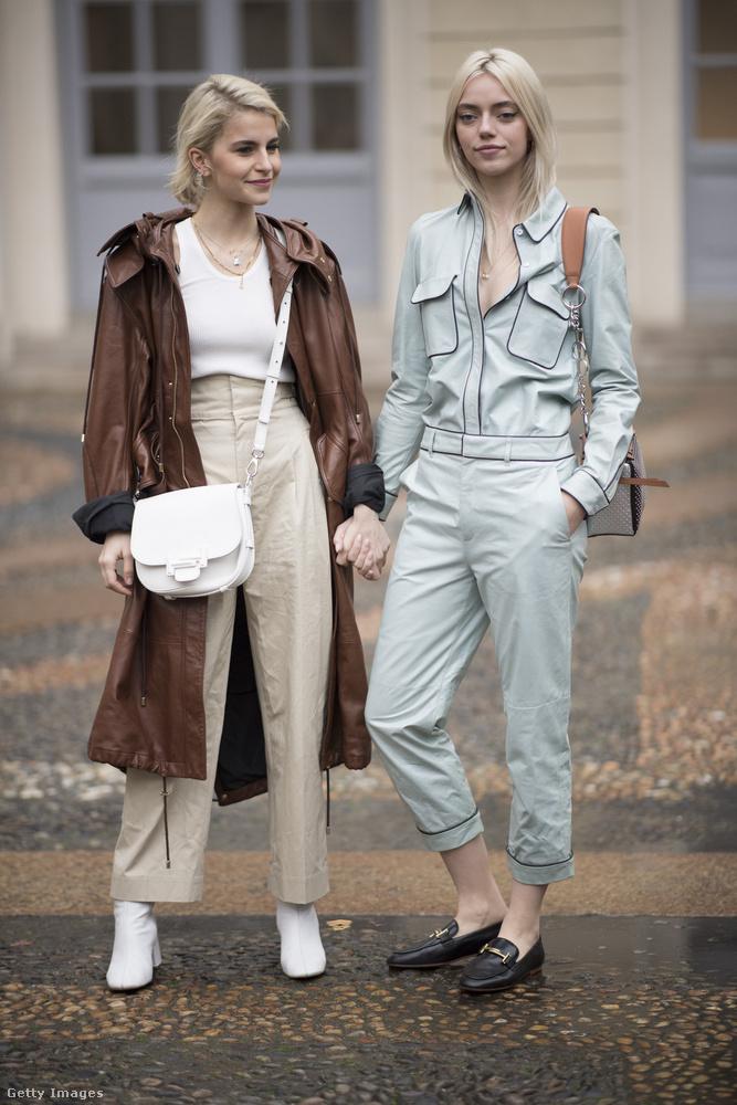 A semleges színek is divatosak Milánóban.