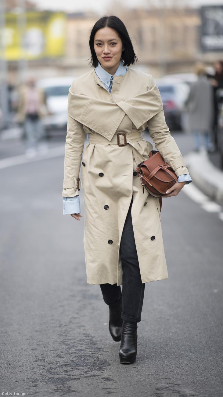 Szinte minden formában divatban vannak a trench coat-ok a szezonban.