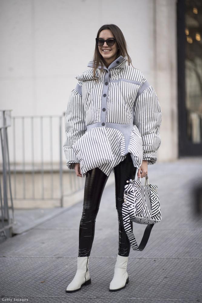 Reméljük, a megfizethetőbb butikokban is lehet majd hasonló fazonú kabátot venni.