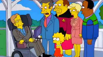 Stephen Hawking imádta a popkultúrát, a popkultúra meg őt