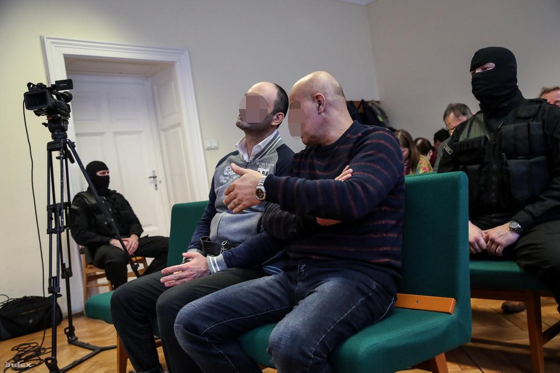 Ahmed H. és a tolmácsa a Szegedi Törvényszéken