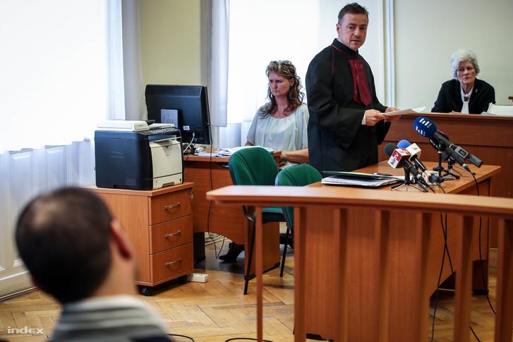 Szanka Ferenc ügyész a Szegedi Törvényszéken