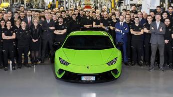 Hibrid lehet a Lamborghini Huracán utóda
