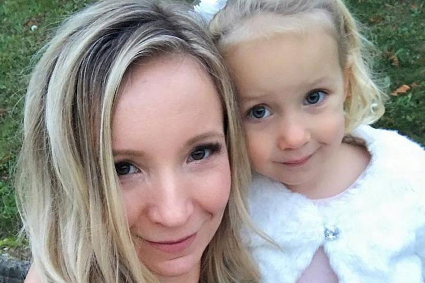 Kőváry Anett és kislánya, Olívia nagyon hasonlítanak egymásra.