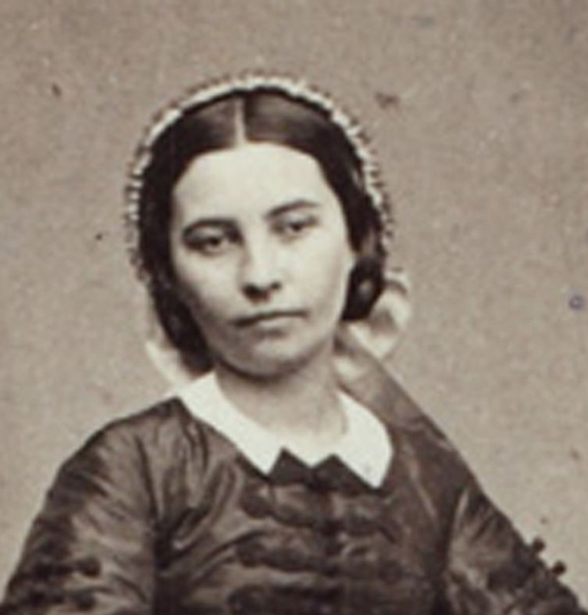 Szendrey Júlia 1859-es portréja.