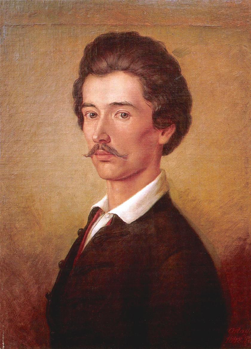 Orlai Petrich Soma Petőfi Sándor című festménye.
