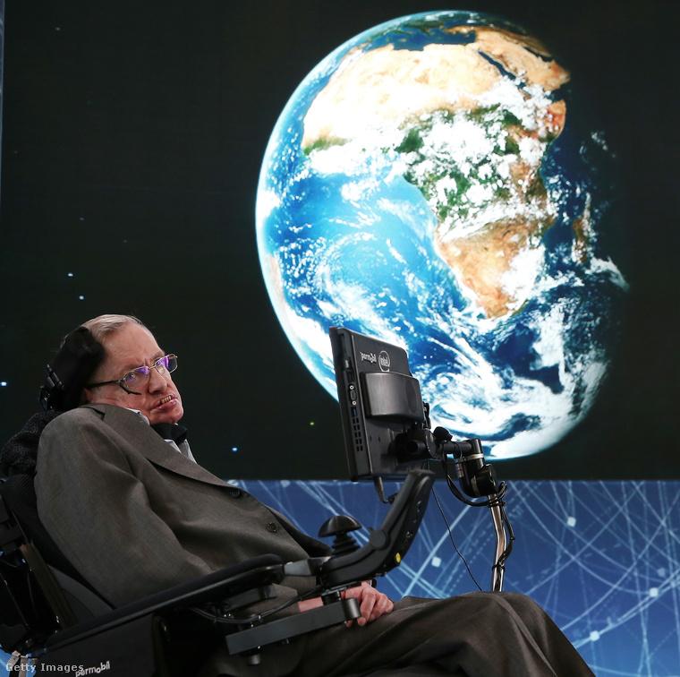 """""""A célom egyszerű: hogy tökéletesen megértsem az univerzumot, hogy miért olyan, amilyen, és egyáltalán miért létezik."""""""