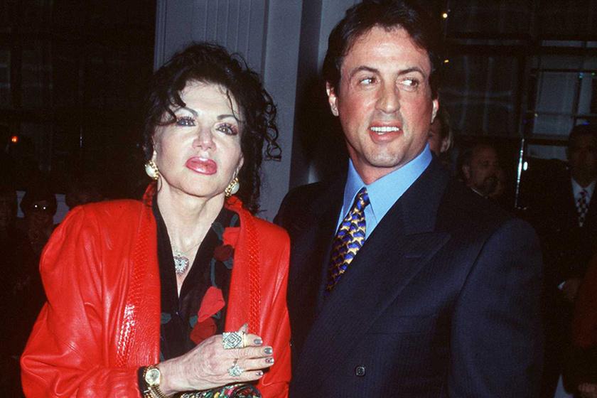 Ilyen szép volt a plasztikák előtt Sylvester Stallone anyja - Döbbenetes a változás