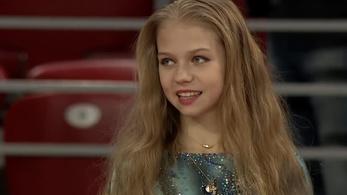 13 éves lány indított el forradalmat a műkorcsolyában
