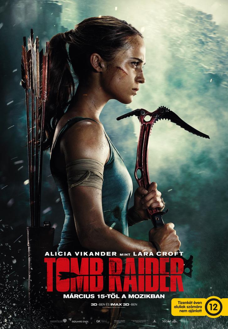 Tomb Raider 12V Axe B1 nagy