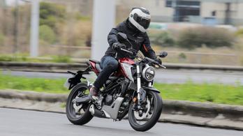 Bemutató: Honda CB125R – 2018.