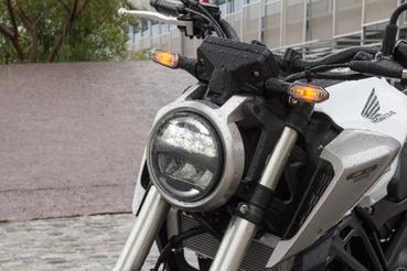 A kerek, ledes lámpa nem csak jól néz ki, de tisztességesen világít is