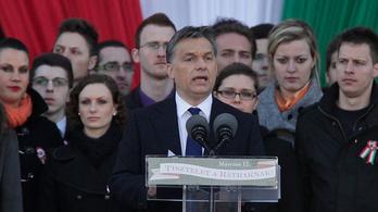 Orbán: Nem leszünk gyarmat