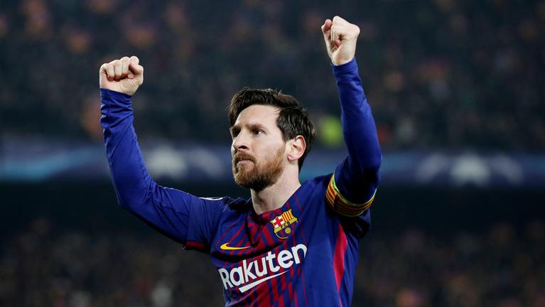 Messi 100. BL-góljával negyeddöntős a Barca