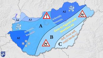 Megismétlődhet a 2013. március 15-i hóvihar