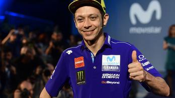 Rossi 41 évesen is ott lesz a Moto GP-ben