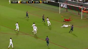 Európa-liga: A Lokomotív csak a pályával tudta meglepni az Atlético Madridot