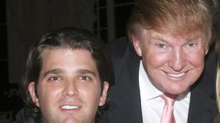 Lehet, hogy nincs elég pénze Donald Trump fiának?