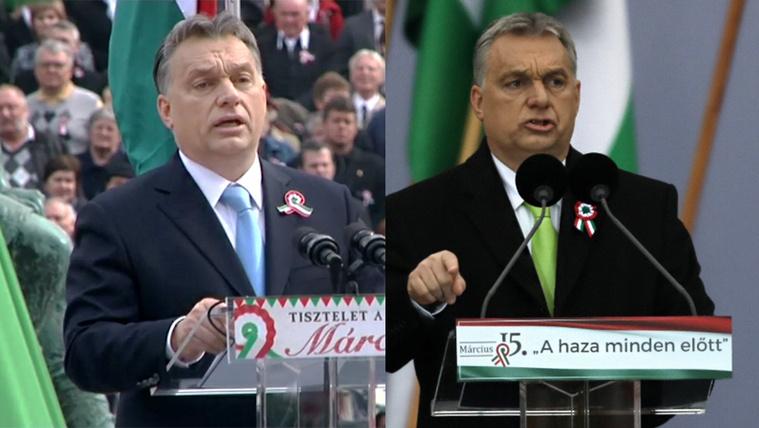 A 2014-es vagy az idei Orbán a harciasabb?