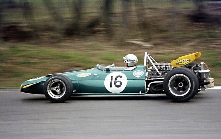 Egy Brabham-féle F1-es autó, egy BT33-as