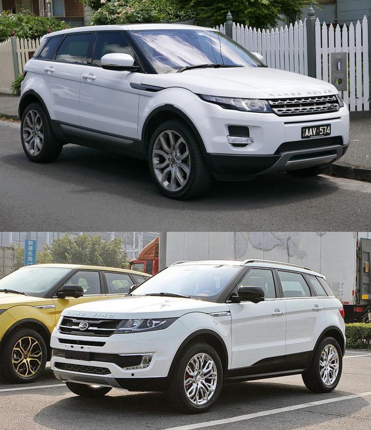 Range Rover Evoque/Landwind X7:                          Egy friss, a Land Rovernek igen fájdalmas történet