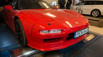 Totalcar Erőmérő: Honda NSX – 1991.