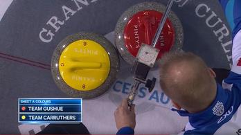 Lézerrel se tudtak igazságot tenni az év curlingdrámájában