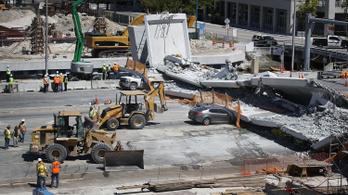 Egy mérnök két nappal a katasztrófa előtt figyelmeztetett a miami híd hibáira