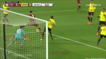 Álomgólt sarkazott a Liverpool brazilja, Szalah mesternégyessel veri Messit