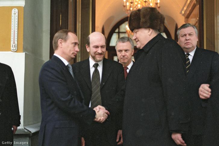 Putyin és Jelcin 1999-ben