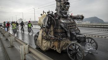 Steampunk harci óriásrobot épült egy magyar filmhez