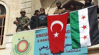 A törökök és a szövetséges milíciáik elfoglalták Afrínt
