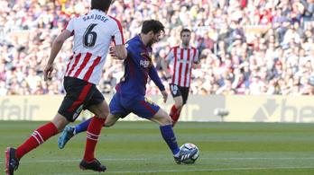 Mi a furcsa ebben a Messi-gólban?