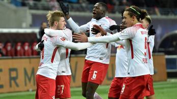 Gulácsiék 0-1-ről fordítva győzték le a 13 bajnoki óta veretlen Bayernt