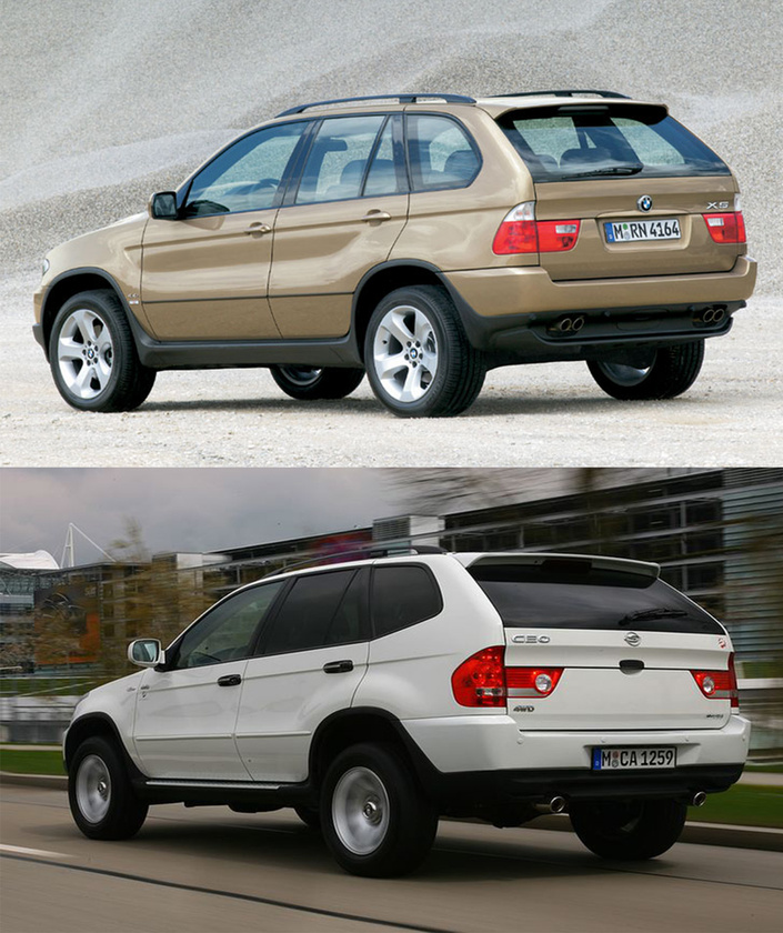 Toyota Land Cruiser, Lexus RX, BMW X5/Shuanghuan SCEO: Nem csak a Smart klónja szárad a Shuanghuan formatervezőinek lelkén