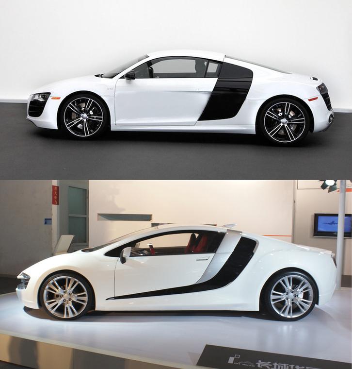 Audi R8/CH-Auto Lithia: Szintén az Audinak fájdalmas mű