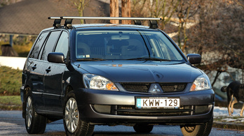Használtteszt: Mitsubishi Lancer 1.6 Wagon - 2006.