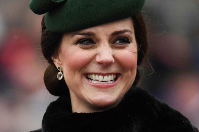 A várandós Katalin hercegné zöld ruhában tündökölt - Ilyen csinos volt a hétvégén